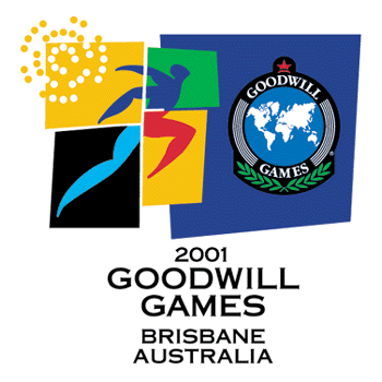 2001 Goodwill Games Brisbane logo